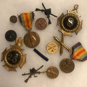 Medals, Pins, Insignia